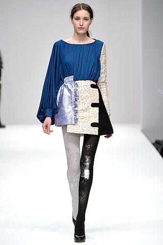 Michael van Der Ham runway look