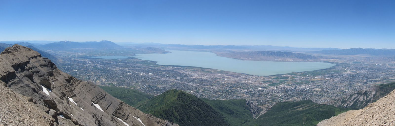 UVU from Mt. Timpanogos: Photo Courtesy of Jake Krong