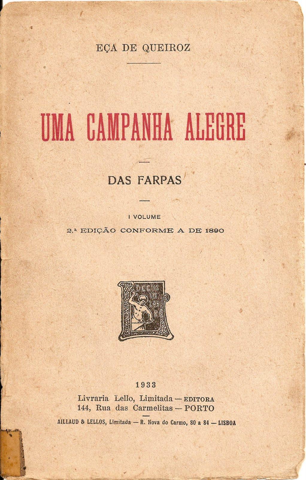 """Arpose: De """"Uma Campanha Alegre""""..."""