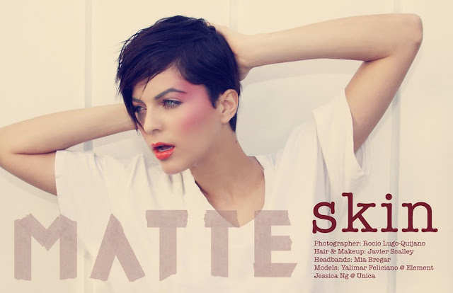 MATTE finish: Skin