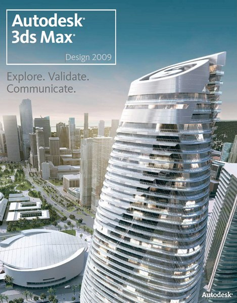 Скачать Autodesk 3ds MAX Design 2009 32&64 bit Retail (Official DVD) .