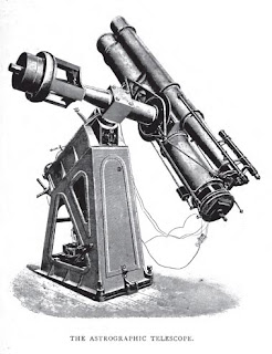 The Astrographic Telescope from E. Walter Maunder, 'The Royal Observatory, Greenwich: a Glance at its History and Work' (1900)