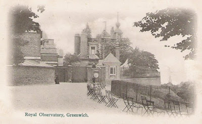Postcard of Royal Observatory, Greenwich, about 1902.