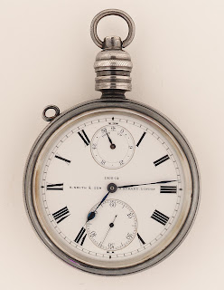 ZBA1611 Pocketwatch by S.Smith & Son, Neg:E0576 © NMM.