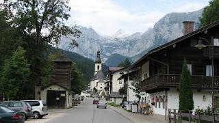 Рамсау. Альпы. Германия-Австрия