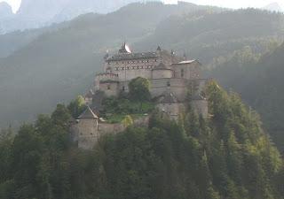Замок Хоенверфен, Зальцбург, Австрия