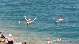 Израиль, TripBY, вода мертвого моря выталкивает