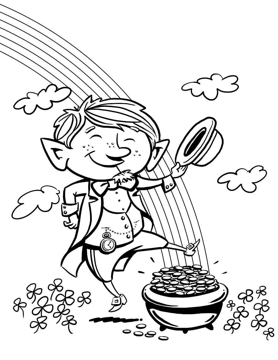 coloring pages for leprocons - photo#26