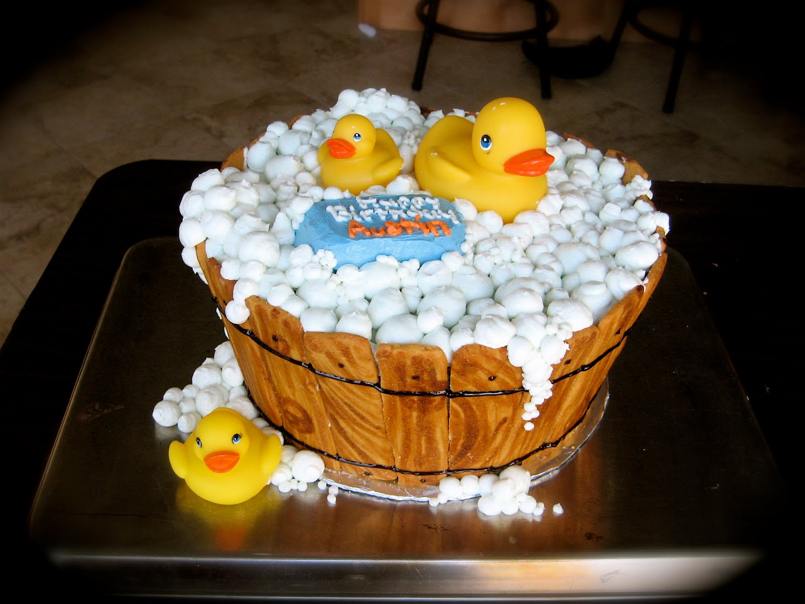 Linseys Creative Cakes Ducky Cake the one that started it all