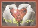 Premio Blog con Corazón Otorgado por Demian