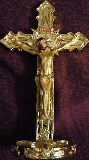 Crucifixion Of Jesus Cross Photo Hanging On Golden Image Free Christian Bible Clipartclip