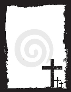Power point background picture with black and white design borders and Crosses coloring page download free Christian images and bile cliparts(clip arts)