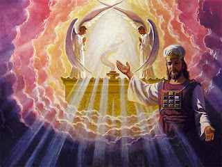 Jesus Christ welcoming hands at the heaven gates drawing art holy picture