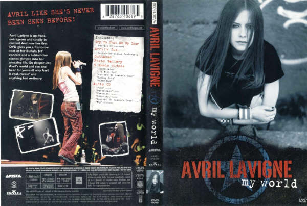avril lavigne my world dvd