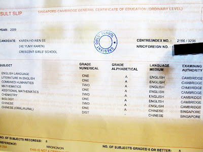 midnight meets, safe shores: O LEVEL RESULTS (: