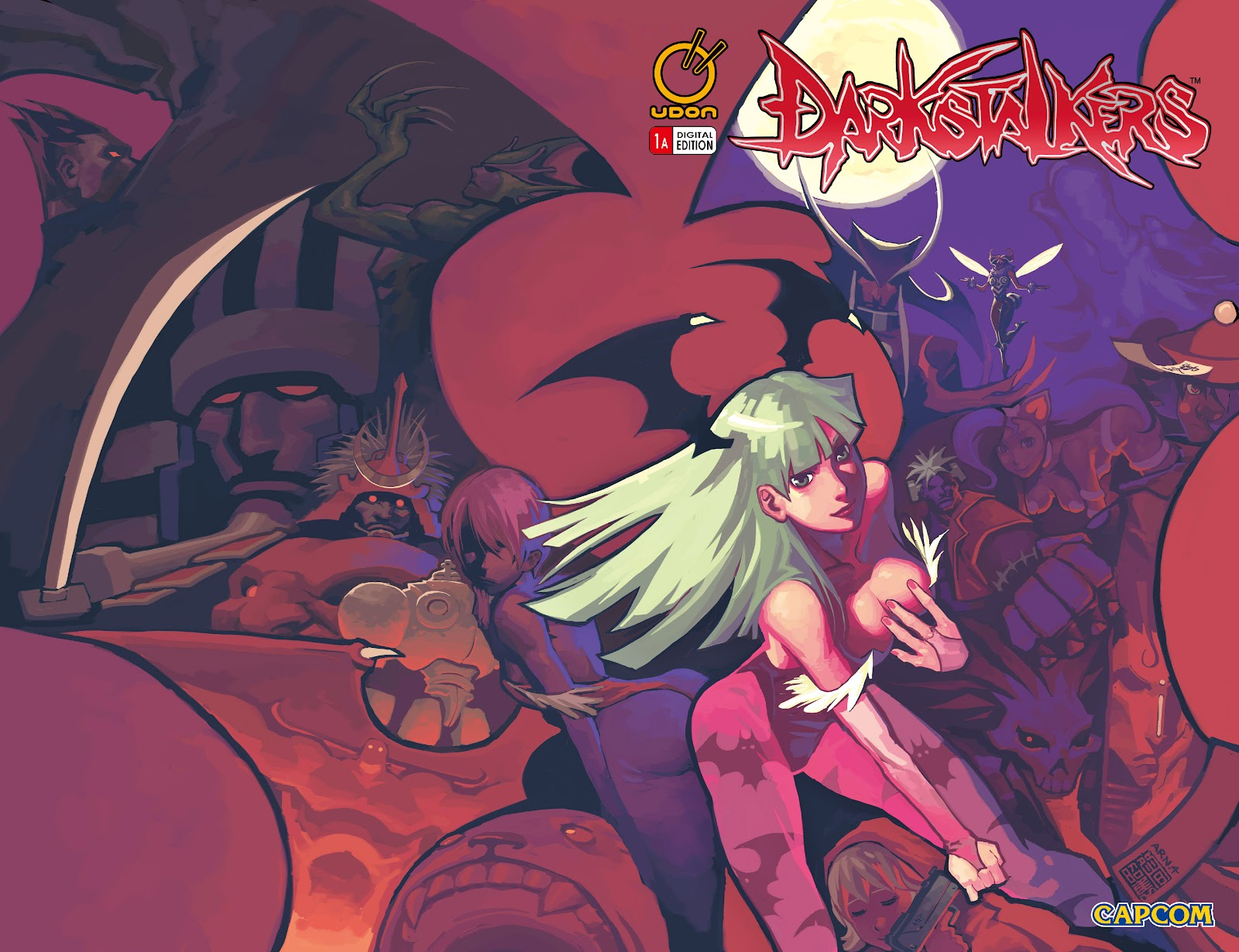 Darkstalkers Issue #1 #2 - English 2