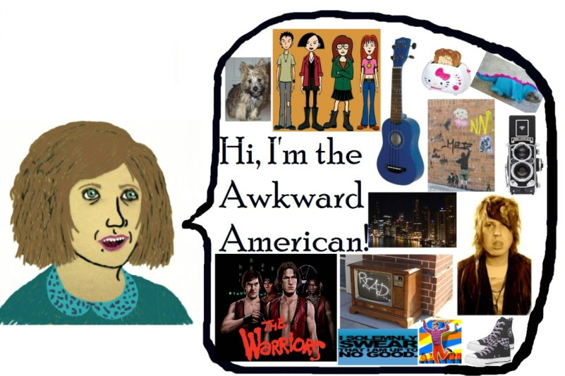 The Awkward American
