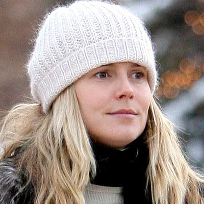 heidi klum without any makeup