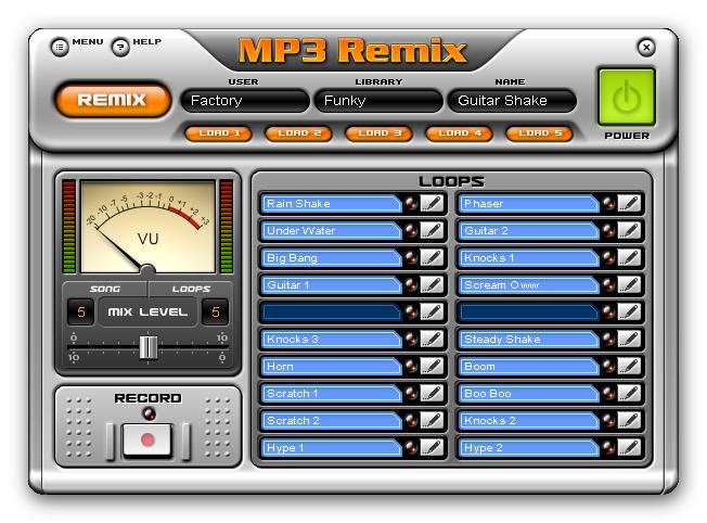 Скачать бесплатно MP3 Remix for Winamp 3.600 + crack (keygen). скачать игры