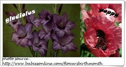 Flowers birth month flowers august birth flower the gladiolus or poppy mightylinksfo