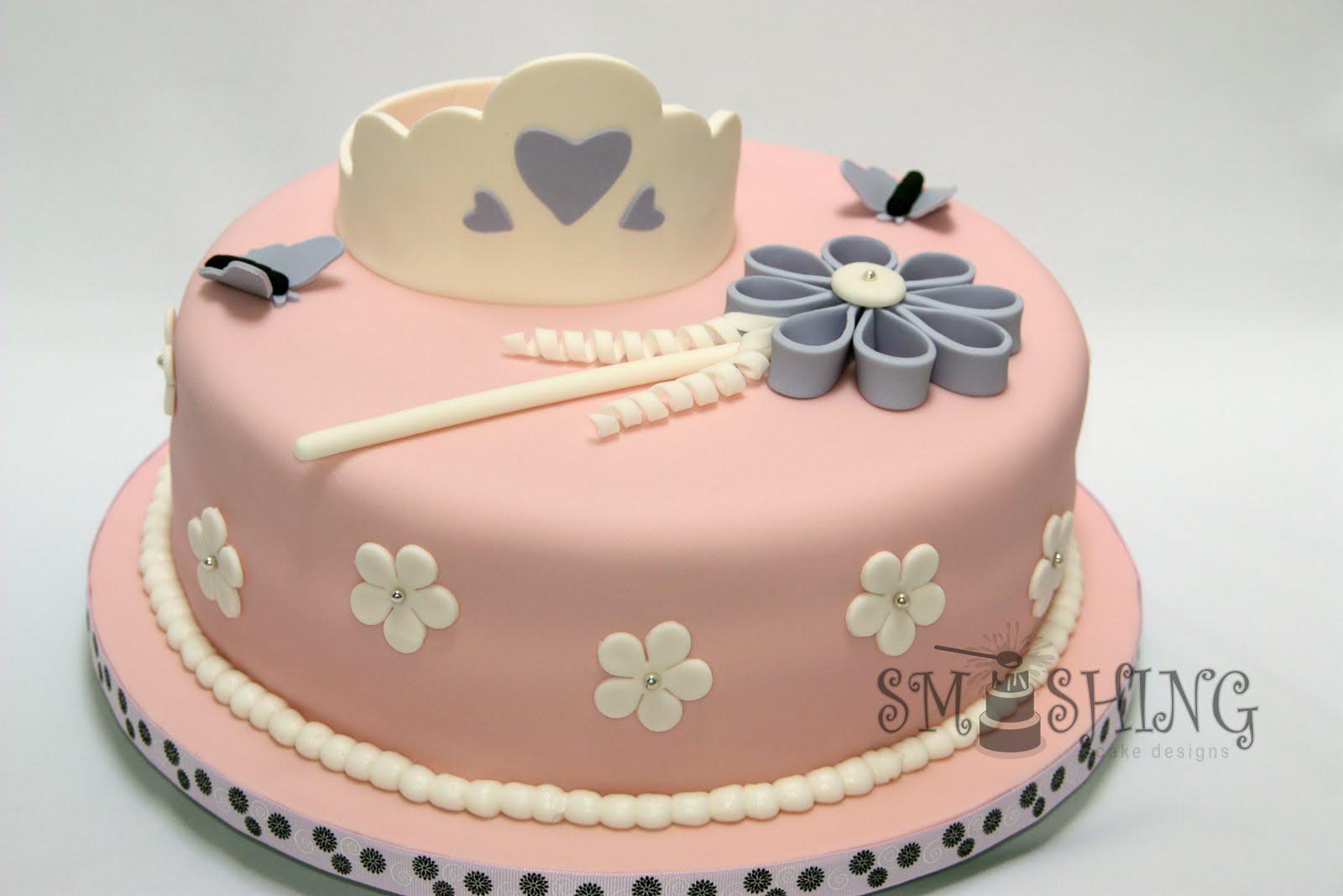 Princess Cake Designs Little Girl : Smashing Cake Designs: June 2010