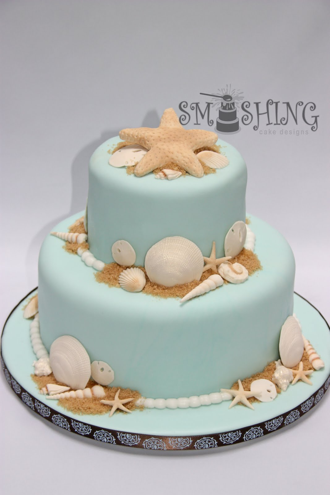 Cake, Cake Ideas, Cake Decor, Beach Cakes, Beach Birthday Cake, Beach ...