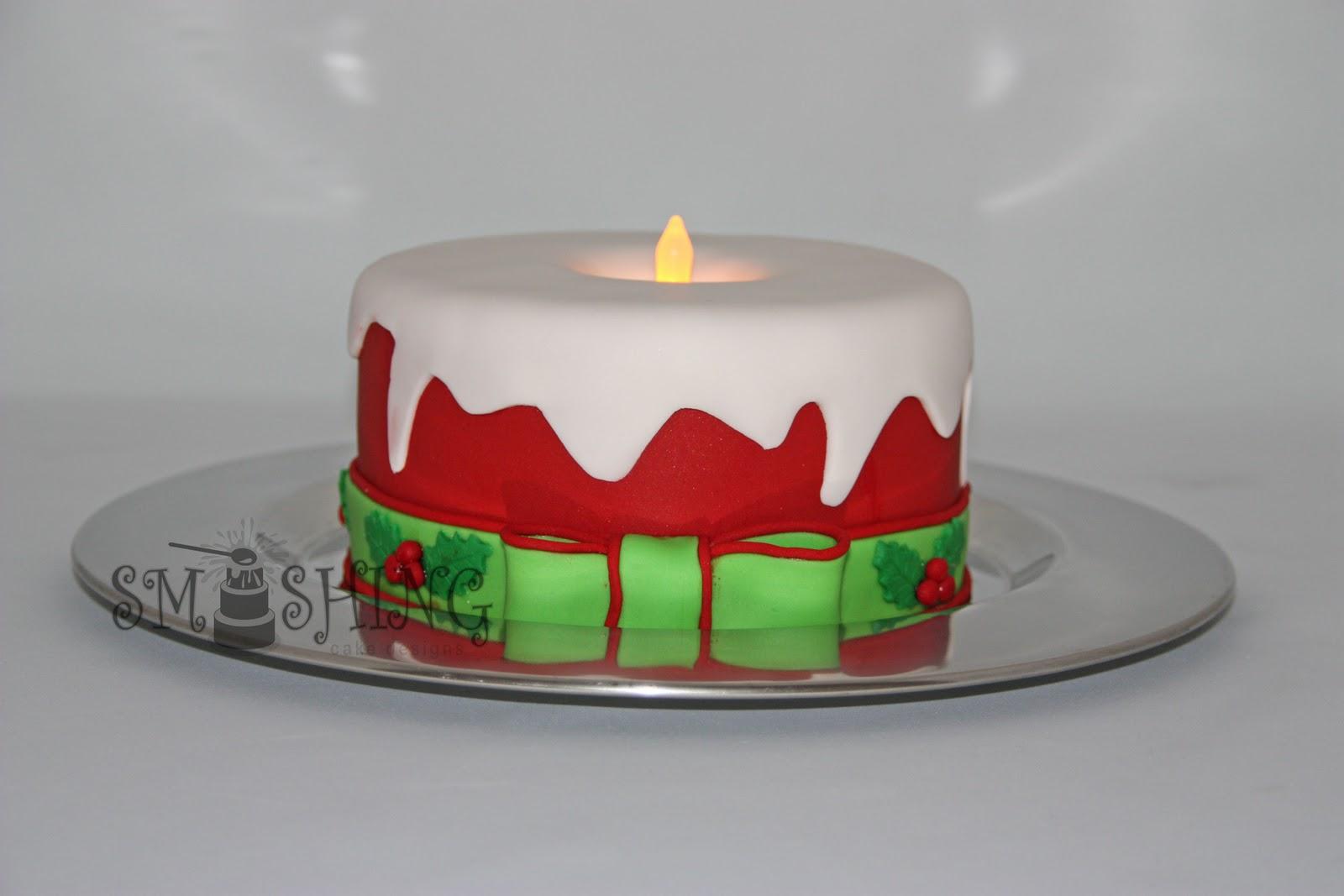 Fondant Cake For Christmas : Smashing Cake Designs: November 2010