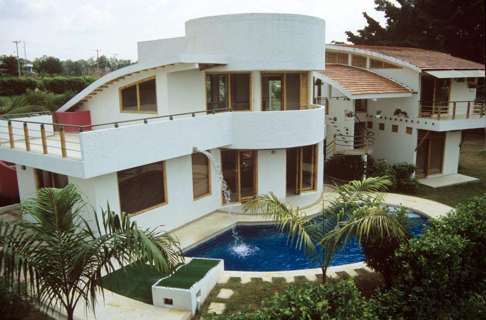 An lisis bioclim tico de una de las casas zuarq for Cubiertas para casas campestres