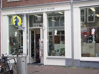 het paard chess shop Amsterdam