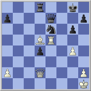 van Scheltinga vs Stahlberg, Chess 1950