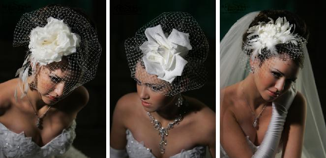 to veil of not to veil Not every bride adores traditional veils no matter what their length if you want to add some glitz and keep your hair in place at the same time, non-traditional head pieces can look ultra feminine and seductive.