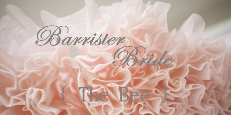 Barrister Bride - the Bee