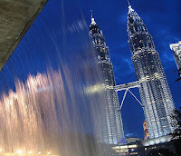 Petronas Towers KLCC Fountainview