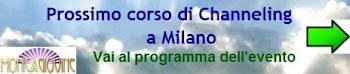 Prossimo corso di Channeling a Milano