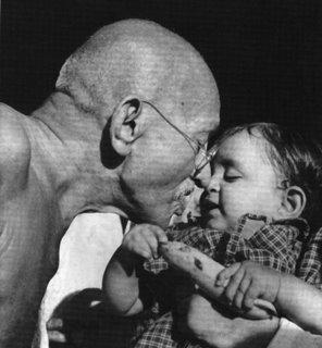 Liderazgo de Mahatma Gandhi