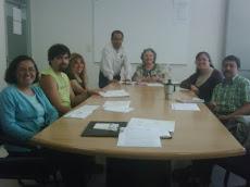 Primera sesión de trabajo colegiado  2009-II