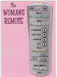 Woman's Ideal Remote Control