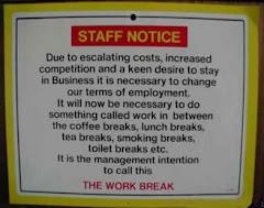 Work Notice