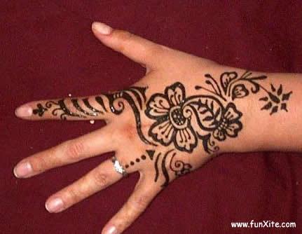 Simple mehndi patterns for