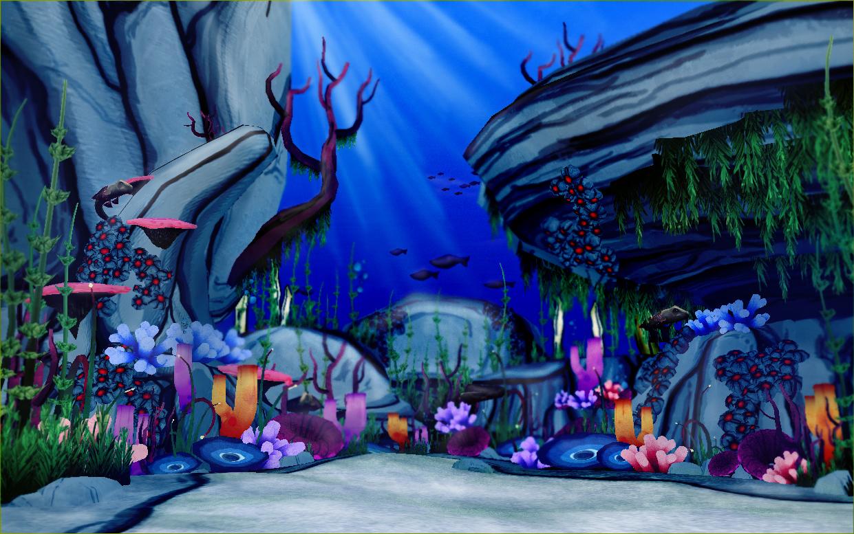 The Art of Braulio Cejudo: WIP: Under Ocean Environment