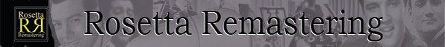 Mario Lanza Rosetta-Remastering