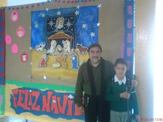 Escuela secundaria diurna 82 mural navide o for Mural navideno