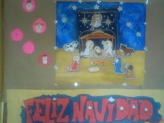 Escuela secundaria diurna 82 mural navide o for Aviso ocasion mural