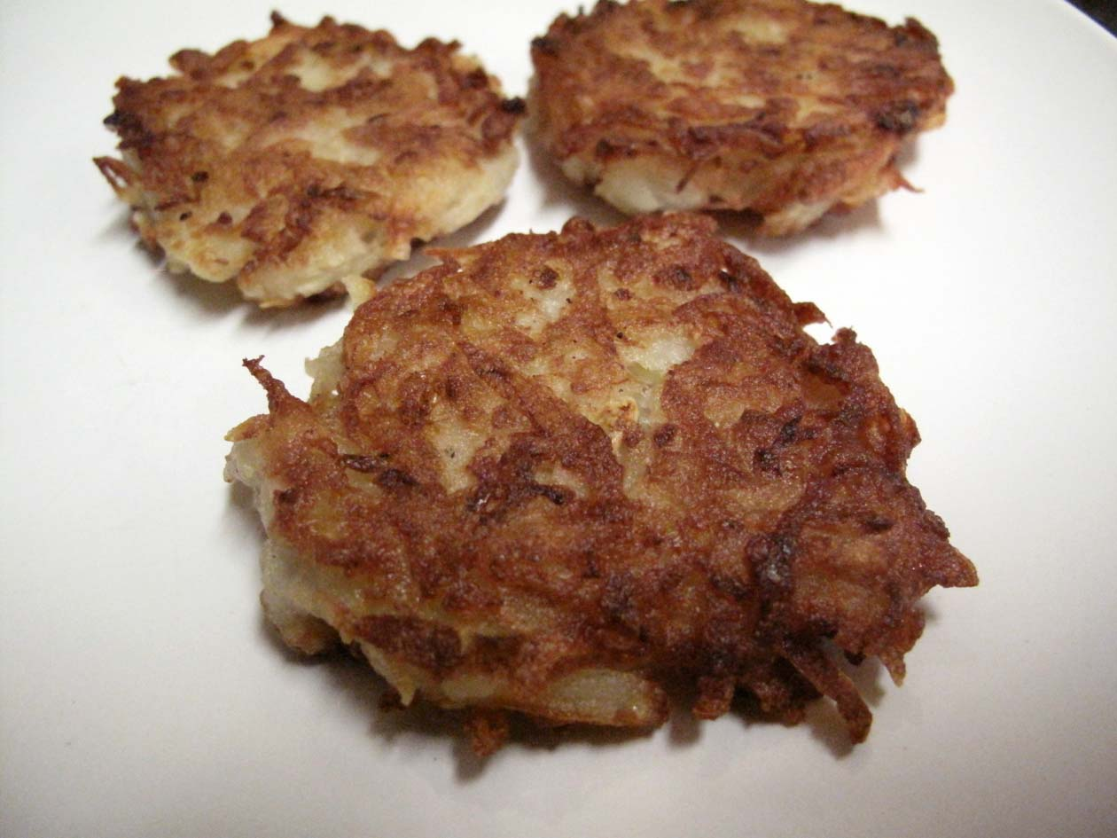 Oh Eat Dirt: Potato Pancakes