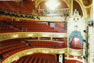 Blackpool opera house layout
