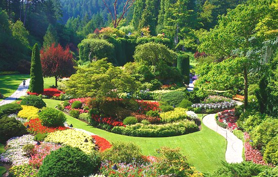 Art and architecture mainly canada 39 s most spectacular - Best time to visit butchart gardens ...