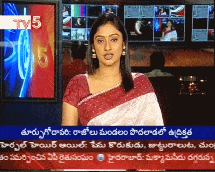 Tollywood Aunties and Actresses: TV5 Anchor Kalyani Latest