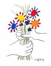 Espalhe flores da gentileza pelos ares...