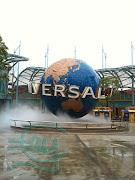 The Universal Studios Globe. (universal studios singapore )