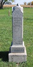 Sevat K. Starkey tombstone